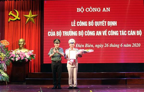Tân Giám đốc Công an tỉnh Điện Biên là ai? - Ảnh 1