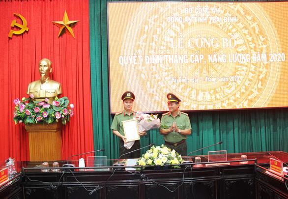Thăng hàm Đại tá cho Giám đốc Công an tỉnh Thái Bình - Ảnh 1