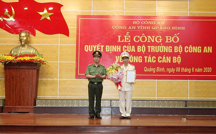 Chân dung tân Phó Giám đốc Công an tỉnh Quảng Bình - Ảnh 1