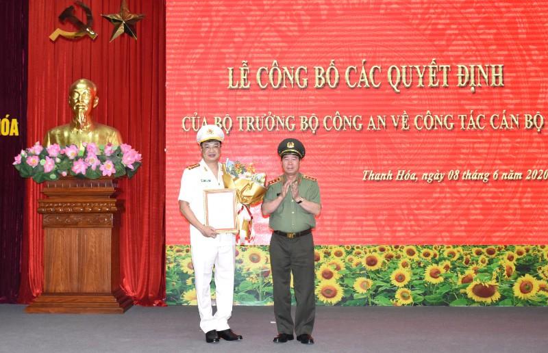 Phó Cục trưởng Cục An ninh mạng giữ chức Giám đốc Công an tỉnh Thanh Hóa - Ảnh 1