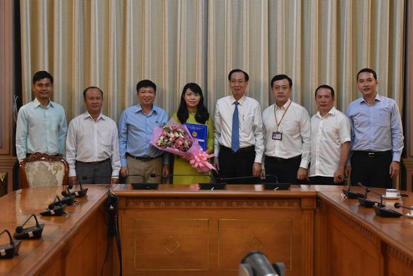 UBND TP.HCM có thêm nữ Phó chánh văn phòng 40 tuổi - Ảnh 1