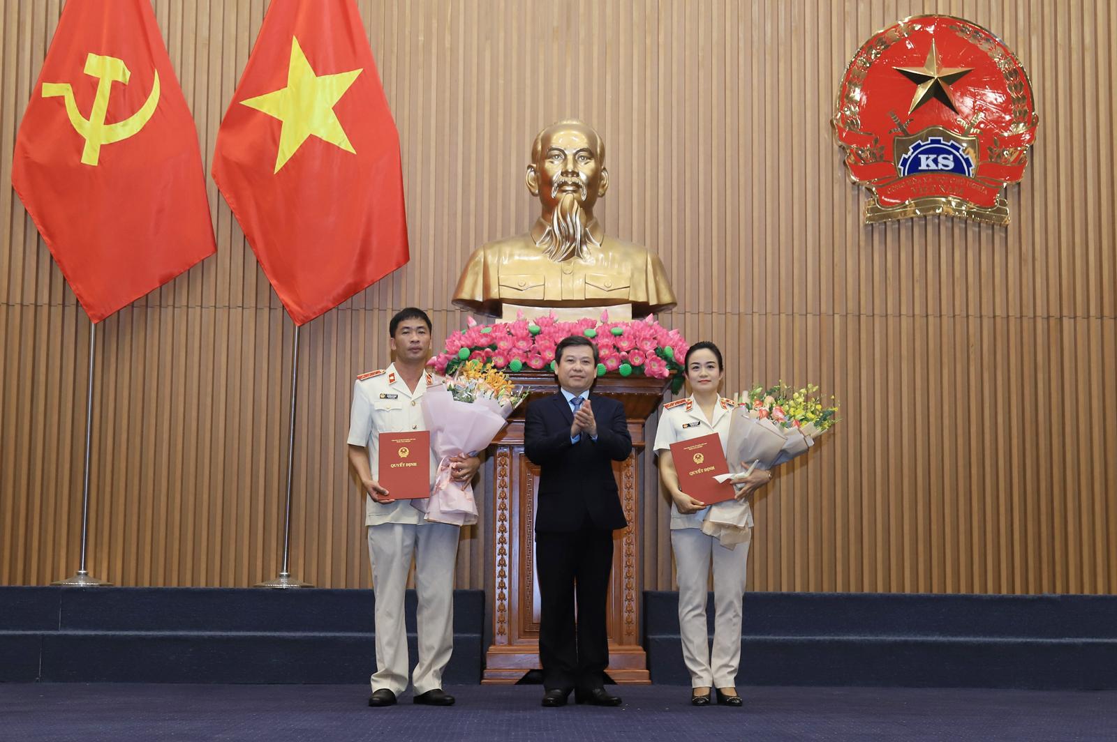 Viện trưởng Viện KSND TP.Hà Nội giữ chức Phó Viện trưởng Viện KSND tối cao - Ảnh 1