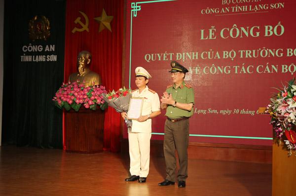 Chân dung tân Giám đốc Công an tỉnh Lạng Sơn Thái Hồng Công - Ảnh 1