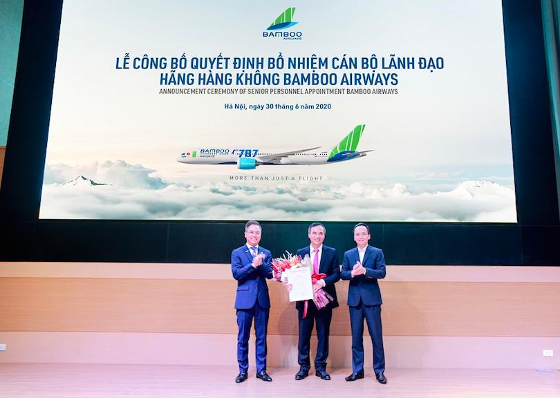 Nguyên Giám đốc hàng không Thiên Minh làm Phó tổng giám đốc Bamboo Airways - Ảnh 1