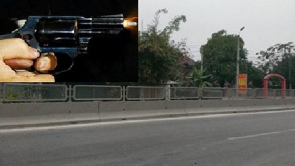 Nghi án nổ súng sau va chạm giao thông ở Thanh Hóa, nhiều người bỏ chạy tán loạn - Ảnh 1