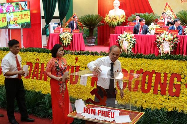 Chủ tịch UBND huyện Quốc Oai không trúng cử Ban chấp hành Đảng bộ huyện - Ảnh 1