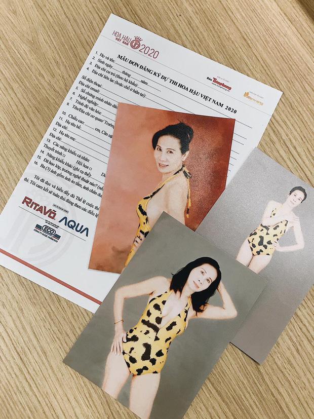 Vóc dáng thon gọn và nhan sắc tươi trẻ đến khó tin của thí sinh U60 đăng ký thi Hoa hậu Việt Nam 2020 - Ảnh 1