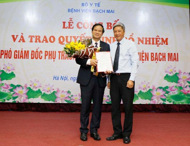 Tân Phó Giám đốc Bệnh viện Bạch Mai vừa được bổ nhiệm là ai? - Ảnh 1