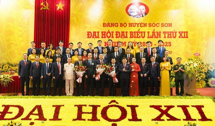 Ông Phạm Quang Thanh được bầu làm Bí thư Huyện ủy Sóc Sơn - Ảnh 1