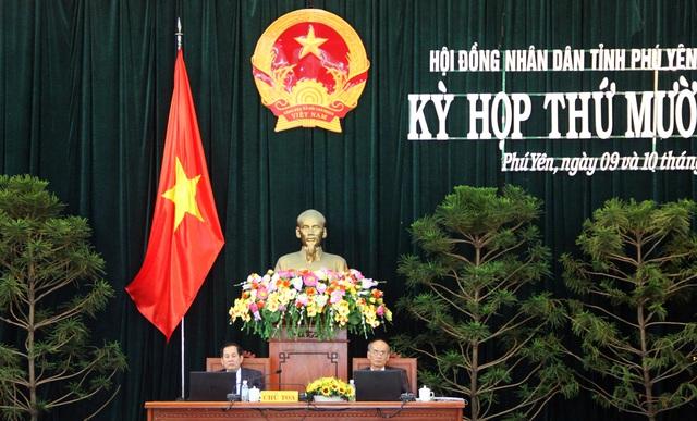 Ông Huỳnh Tấn Việt xin thôi chức Chủ tịch HĐND tỉnh Phú Yên - Ảnh 1