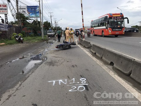 Tin tai nạn giao thông mới nhất ngày 2/8/2020: Tài xế xe máy tháo chạy sau khi tông chết người đi xe đạp - Ảnh 2