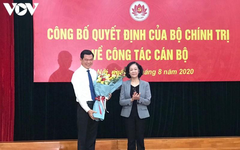 Bí thư Tỉnh ủy Bà Rịa - Vũng Tàu được điều động làm Phó Trưởng ban Dân vận Trung ương - Ảnh 1