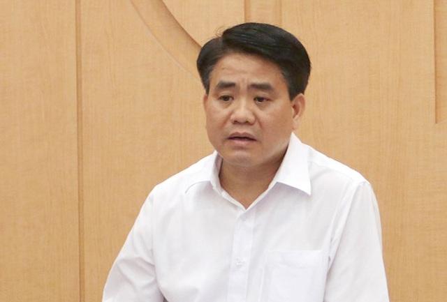 Ông Nguyễn Đức Chung bị đình chỉ chức vụ Phó Bí thư Thành ủy Hà Nội - Ảnh 1