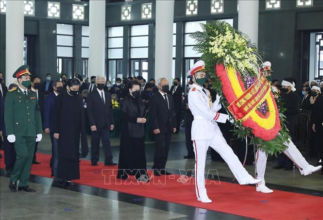Cử hành trọng thể Lễ Quốc tang nguyên Tổng Bí thư Lê Khả Phiêu - Ảnh 11