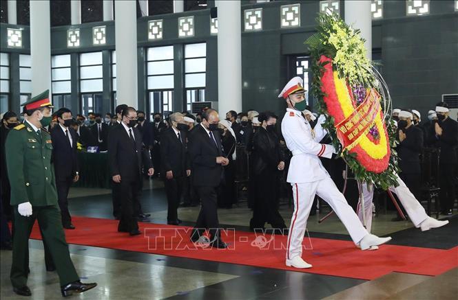 Cử hành trọng thể Lễ Quốc tang nguyên Tổng Bí thư Lê Khả Phiêu - Ảnh 5