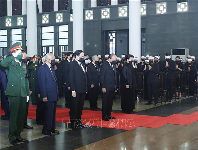 Cử hành trọng thể Lễ Quốc tang nguyên Tổng Bí thư Lê Khả Phiêu - Ảnh 6