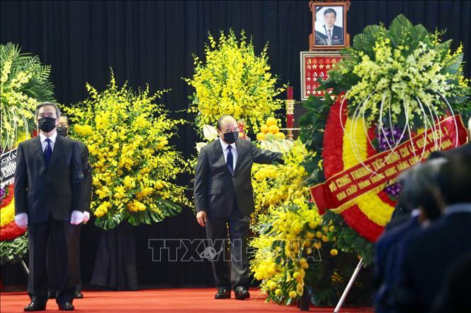 Cử hành trọng thể Lễ Quốc tang nguyên Tổng Bí thư Lê Khả Phiêu - Ảnh 7