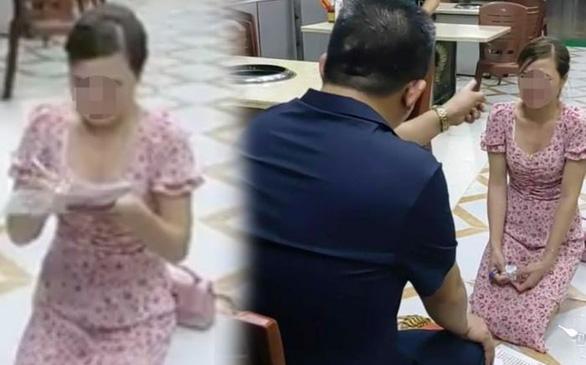 Cô gái bị chủ quán Nhắng nướng bắt quỳ gối ở Bắc Ninh nói gì? - Ảnh 1