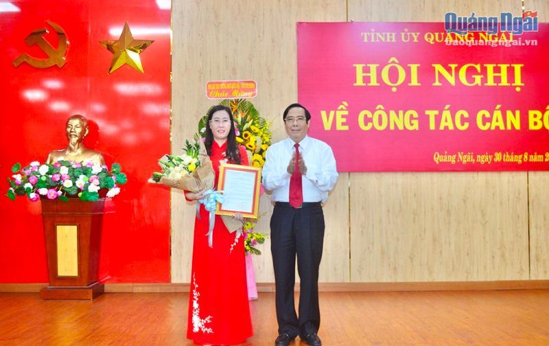 Chân dung tân Bí thư Tỉnh ủy Quảng Ngãi Bùi Thị Quỳnh Vân - Ảnh 1