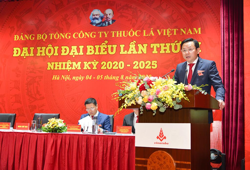 Bí thư Đảng ủy Tổng Công ty Thuốc lá Việt Nam vừa được bầu là ai? - Ảnh 1