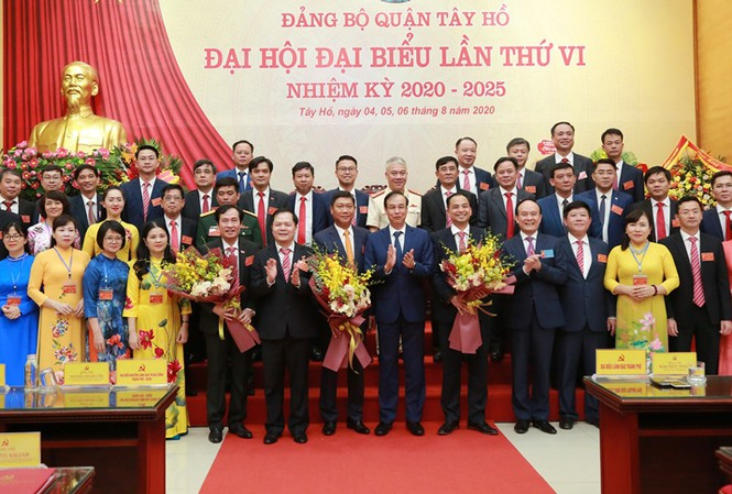 Hà Nội: Tân Bí thư Quận ủy Tây Hồ vừa được bầu là ai? - Ảnh 1