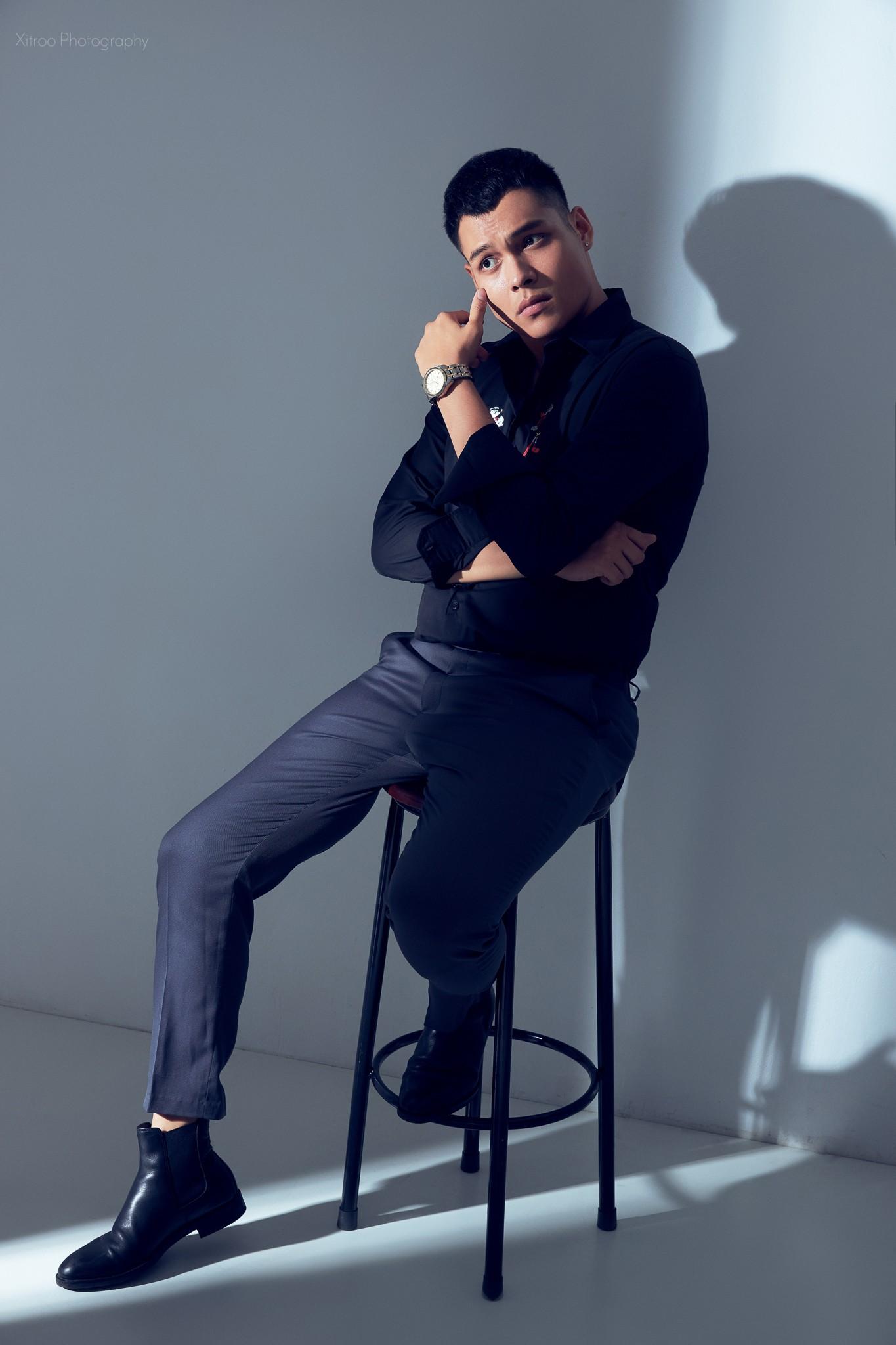 """Diễn viên Phan Thắng nói về tin đồn yêu Huyền Lizzie, tiết lộ đang học """"nghệ thuật… sống ảo"""" - Ảnh 1"""