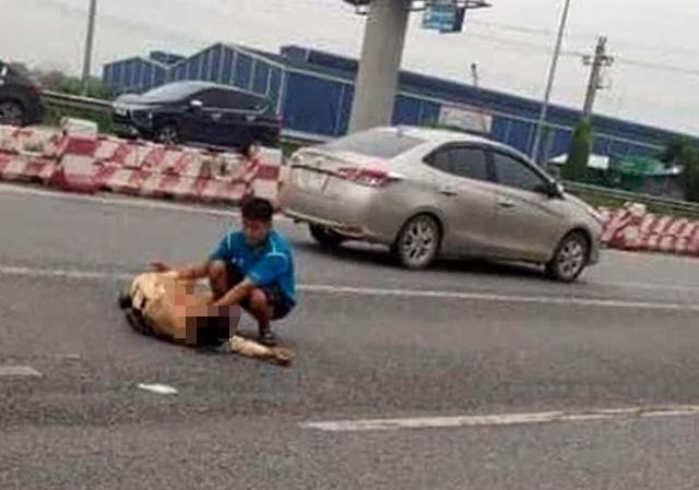 Tin tai nạn giao thông mới nhất ngày 22/9/2020: Nguyên nhân bất ngờ vụ Trung úy CSGT bị tông gãy chân - Ảnh 1