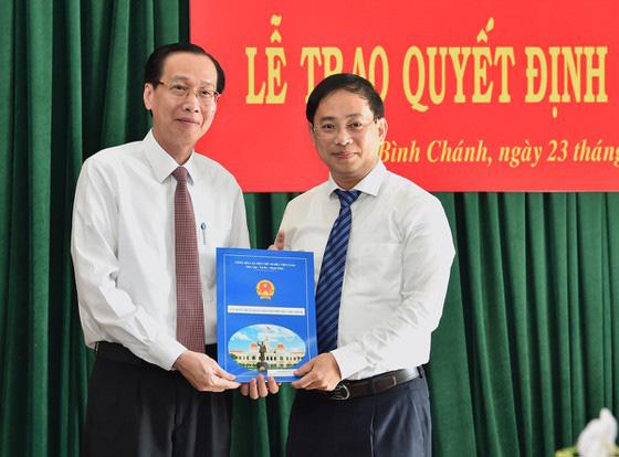 TP. HCM: Ông Đào Gia Vượng giữ chức Chủ tịch UBND huyện Bình Chánh  - Ảnh 1