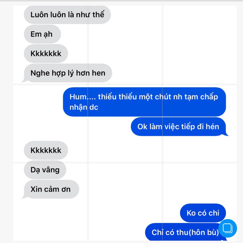 """Hari Won công khai tin nhắn """"tố"""" Trấn Thành quên """"luật vợ chồng"""" - Ảnh 3"""