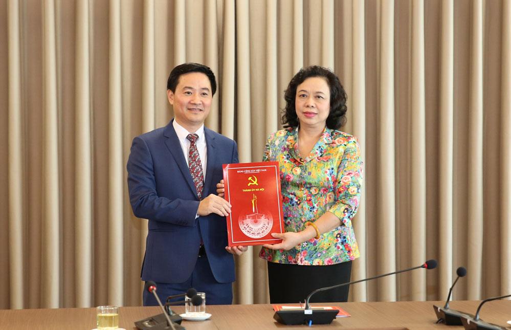 Tân Chánh Văn phòng Thành ủy Hà Nội vừa được bổ nhiệm là ai? - Ảnh 1