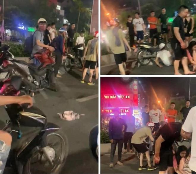 Tin tai nạn giao thông mới nhất ngày 9/9/2020: Bị truy đuổi, xe ben nghi gắn biển đỏ giả đổ đá xuống đường ngăn CSGT - Ảnh 2