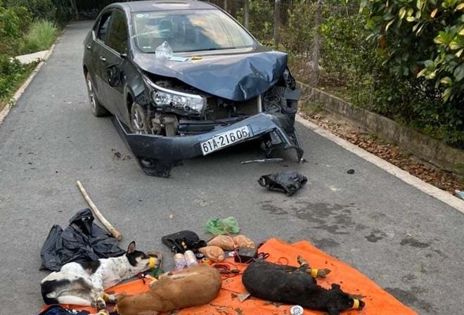 Vụ trộm chó tông thẳng ô tô vào công an: Chân dung