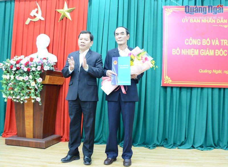 Chân dung Bí thư huyện ủy được bổ nhiệm làm Giám đốc sở Công Thương Quảng Ngãi - Ảnh 1
