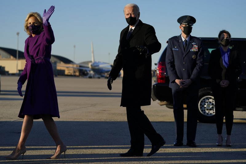 Ông Joe Biden chuẩn bị nhậm chức Tổng thống Mỹ - Ảnh 1