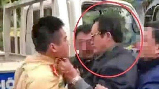 Vụ Chi cục trưởng Dân số túm cổ áo CSGT: Lãnh đạo Công an TP Tuyên Quang tiết lộ bất ngờ - Ảnh 1