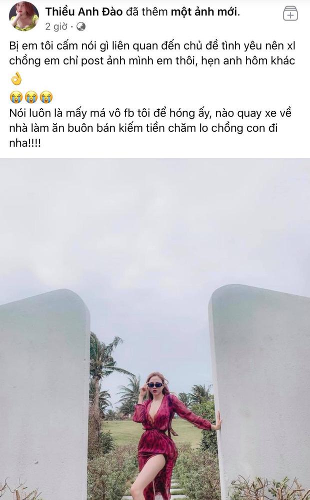 """Chị gái Thiều Bảo Trâm bị cấm nói về chuyện tình yêu giữa biến """"thương em"""" của Sơn Tùng  - Ảnh 1"""