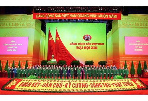 Danh sách tướng lĩnh Quân đội, Công an trúng cử BCH Trung ương khóa XIII - Ảnh 1