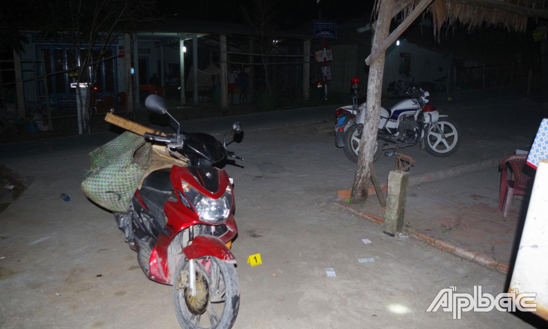 Người đàn ông dùng dao đâm đại úy CSGT ở Tiền Giang - Ảnh 1