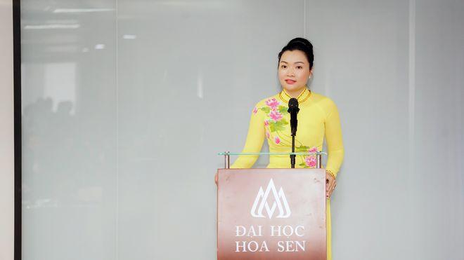 Nữ Phó Giám đốc sở Du lịch 37 tuổi làm quyền Hiệu trưởng Đại học Hoa Sen - Ảnh 1