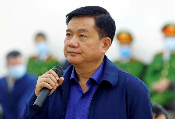 Ông Đinh La Thăng đề nghị xem xét lại cách đánh giá thiệt hại của vụ án - Ảnh 1