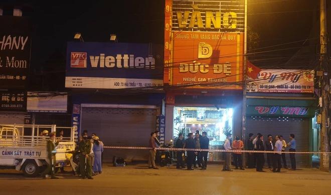 Công an Hải Phòng thông tin chính thức vụ nổ tại tiệm vàng Đức Đệ - Ảnh 1