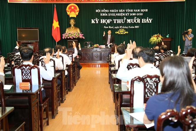 2 Phó Chủ tịch UBND tỉnh Nam Định vừa được bầu là ai? - Ảnh 2