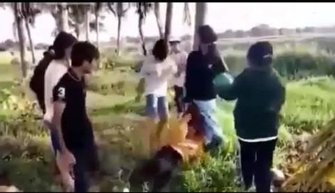 Vụ clip bé gái bị đánh dã man ở khu đất trống: Nạn nhân không mang thai - Ảnh 2