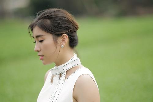 Tiêu Châu Như Quỳnh khóc hết nước mắt khi quay MV mới - Ảnh 1