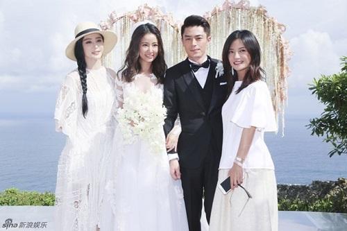 Triệu Vy và Tô Hữu Bằng hội ngộ mừng đầy tháng con gái Lâm Tâm Như - Ảnh 3