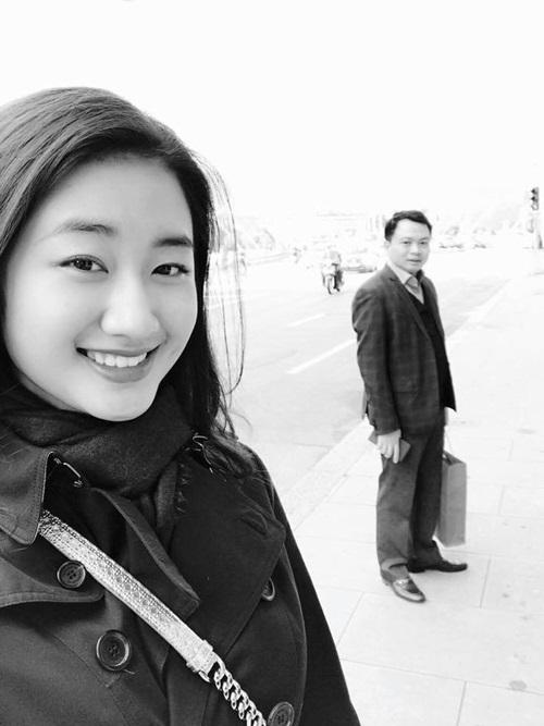 Hoa hậu Thu Ngân lần đầu khoe ảnh hôn chồng đại gia hơn 19 tuổi lúc mới yêu - Ảnh 12