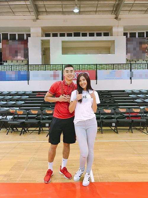 Hoa hậu Nguyễn Thị Loan vướng tin đồn hẹn hò với ngôi sao bóng rổ Tuấn Tú - Ảnh 1