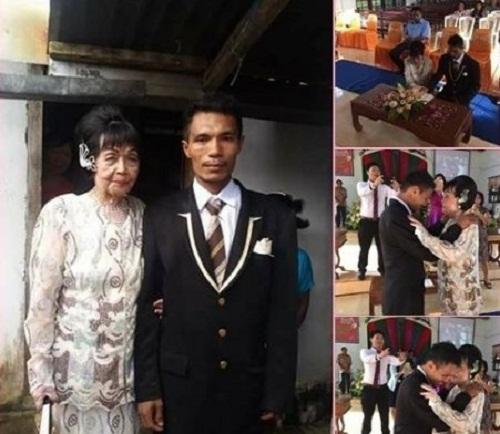 Chàng trai 28 tuổi quyết cưới cụ bà 82 tuổi - Ảnh 1