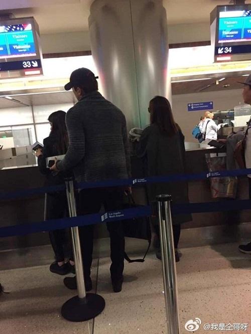 Kim Tae Hee và Bi Rain bị bắt gặp tới Mỹ du lịch sau tuần trăng mật - Ảnh 1
