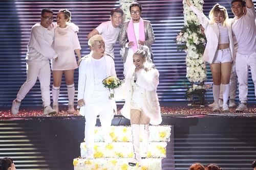 The Remix: Hương Giang Idol đánh bại Yanbi - Yến Lê bằng vũ điệu quyến rũ  - Ảnh 5